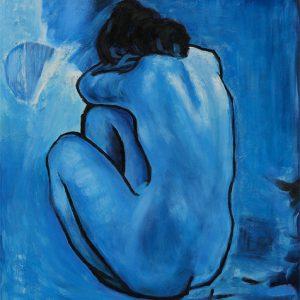 Pablo Picasso, Blue Nude