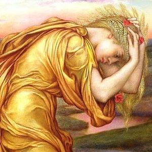 Evelyn de Morgan, Demeter Mourning for Persephone