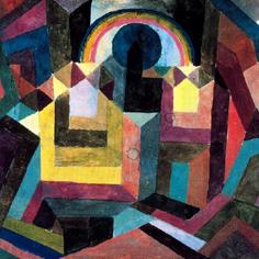 Paul Klee, With the Rainbow